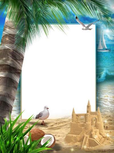 Sea frame collage download