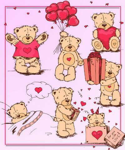 Clip Art - Soft Toys - Good Bears free download