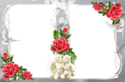 Wedding Frame For Two Photos I Loved You I Love You Let The