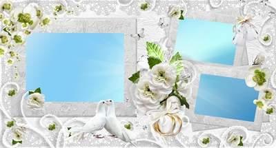 Photo album wedding - Let domestic life as a diamond will begin to sparkle