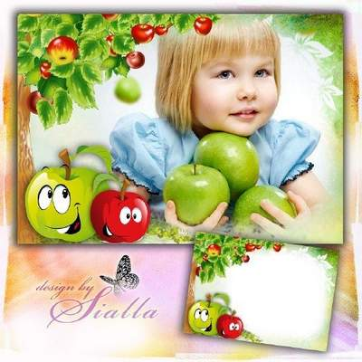 Kids Photo frame download - free psd & png frame