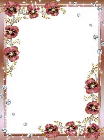Jewelry free frame psd png photoshop download