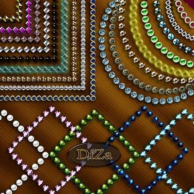 Decorative free png frames download