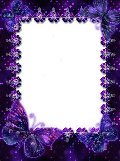 Violet rhapsody free psd frame download