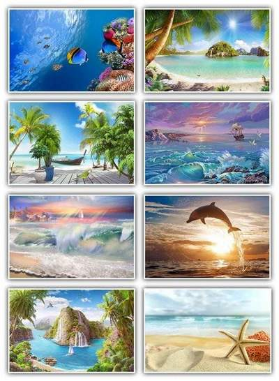 Seascape backgrounds download - 37 jpg, 2200 x 1500 px