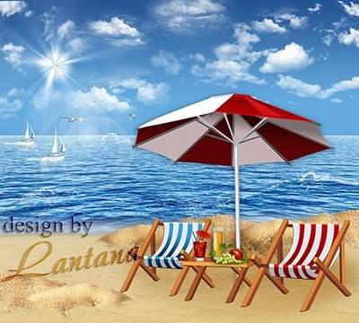 Free psd source dowload - Velvet season at the sea