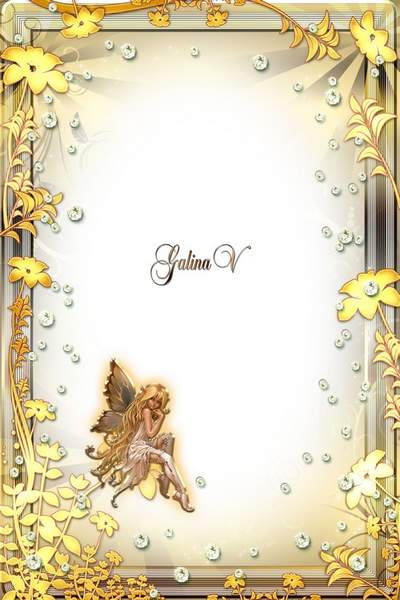 Girl's Frame free download - Golden Fairy