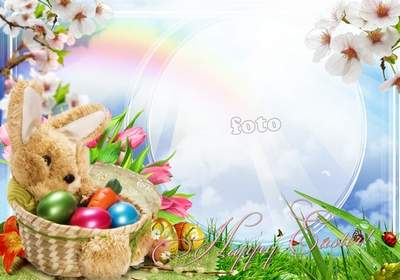 Holiday Frame free download - Happy Easter
