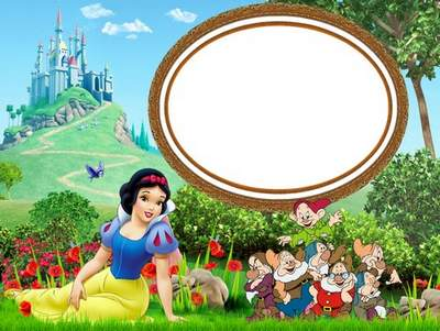 Children Frames For Photoshop The Tale Of Snow White And The