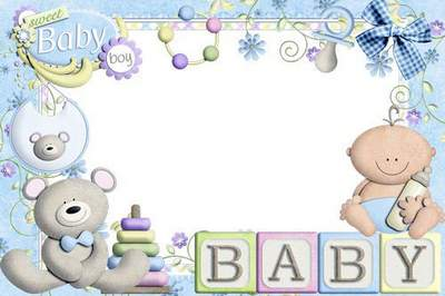 Two baby frames for the boy free download - Our kid