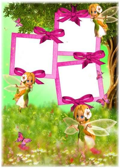 Children frame free download - Fantastic little fairies