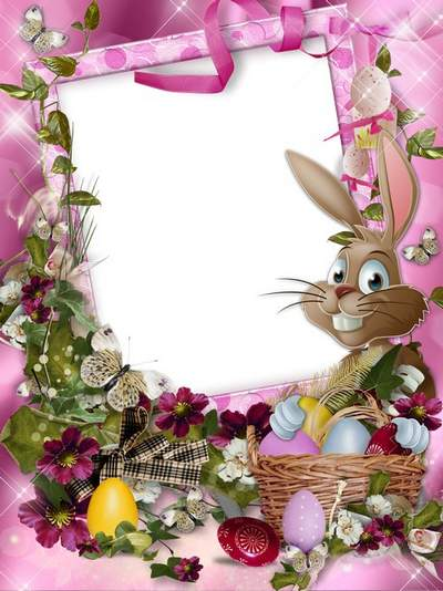 Easter frame free download