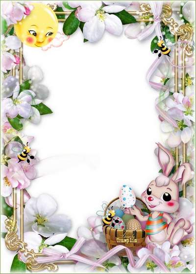 Easter frame download - Nice and clear day