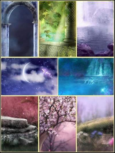 Collage Backgrounds download - 100 jpg images ~ 1200 x 1600 px
