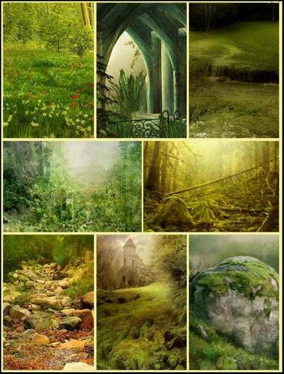 Collage Backgrounds for Photoshop download - 100 jpg pictures ~ 1200 x 1998 px
