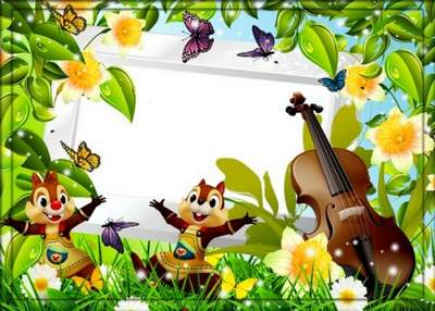 Frames with Disney characters-The Adventures of Chip and Dale free download