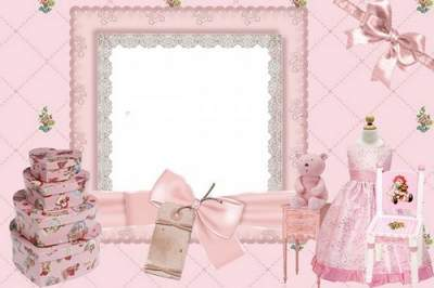 Baby girl Frame PNG My Princess free download