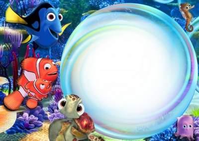 Kids frame Visiting Nemo free download