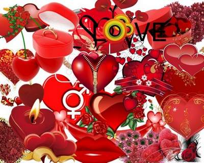 Heart Clipart download free psd - My heart says love