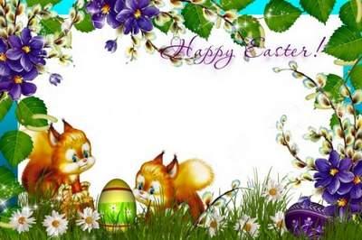 Children's Easter frame - Christ is Risen!