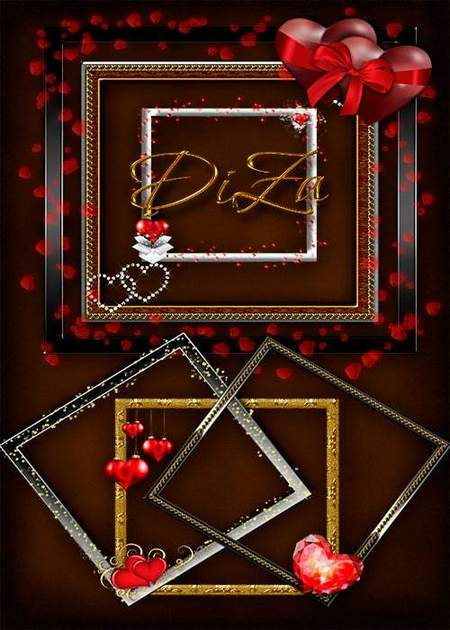 Love frame png download - 15 free png frames