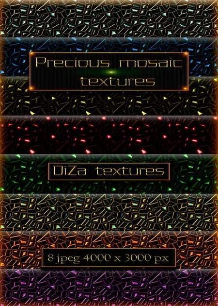 Precious mosaic textures download