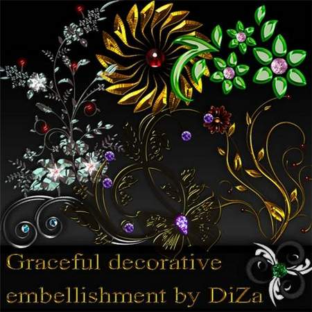 Decorative clipart download - 52 free png images for design