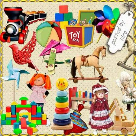 Toys Clipart download - 175 free png images on a transparent background