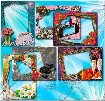 Flower frame download