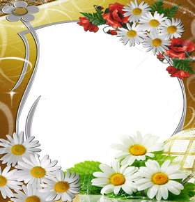Flower frame download