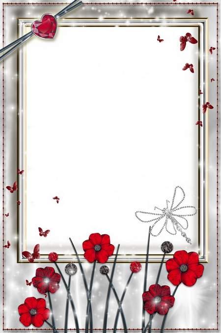 Glamur frame - Silver Light