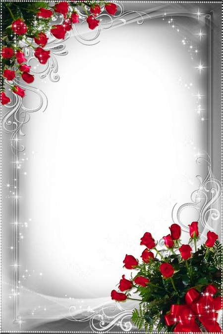 Frame for photo - luxury silver