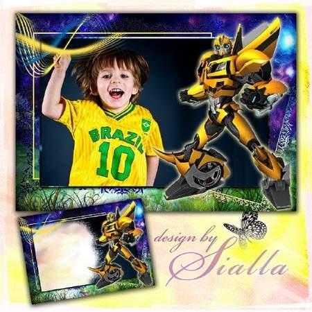 Transformers - children frame downlod