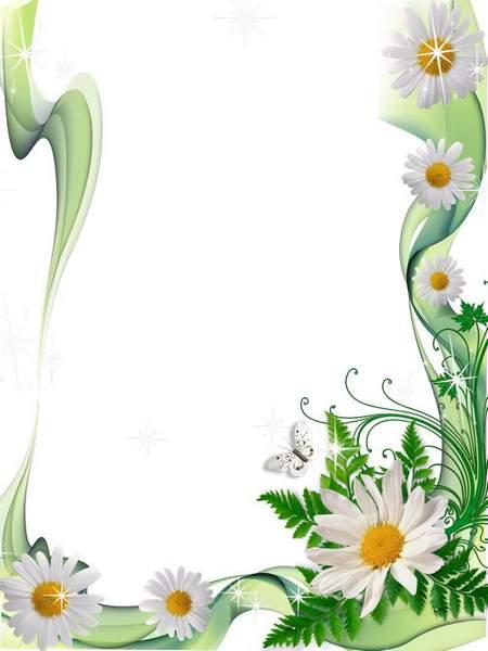 Frame for photoshop download - Green summer