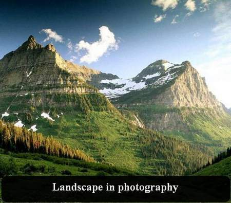 Landscape in photography