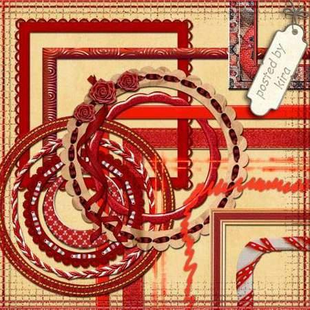 Red frames png download - 50 free png frames