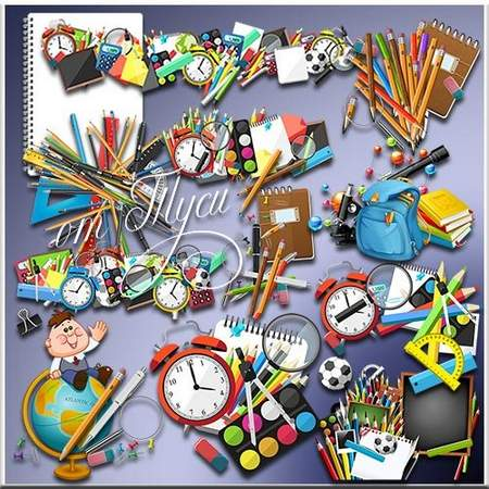 School Clipart download - free psd file
