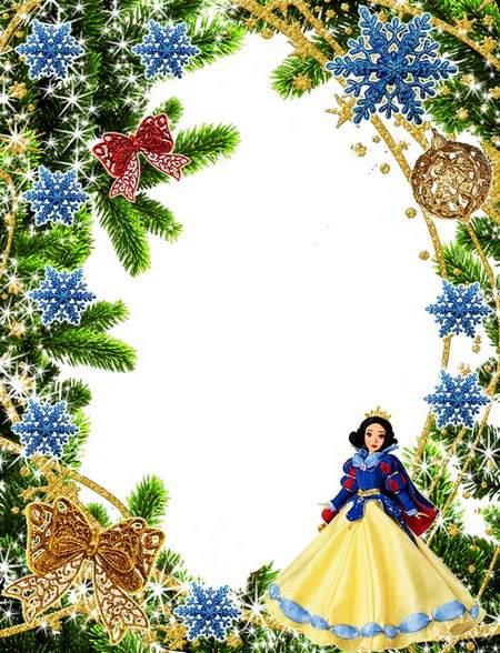 Children's Frames Winter Princess