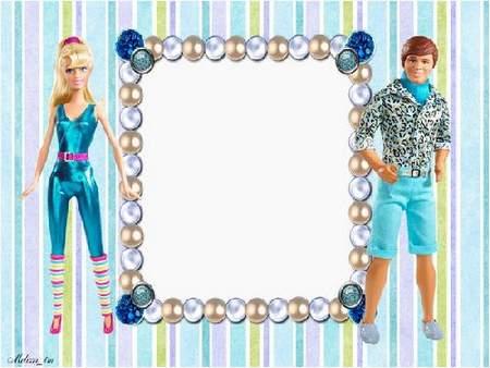 "Photoframes for Girls ""Barbie"" (part 2)"
