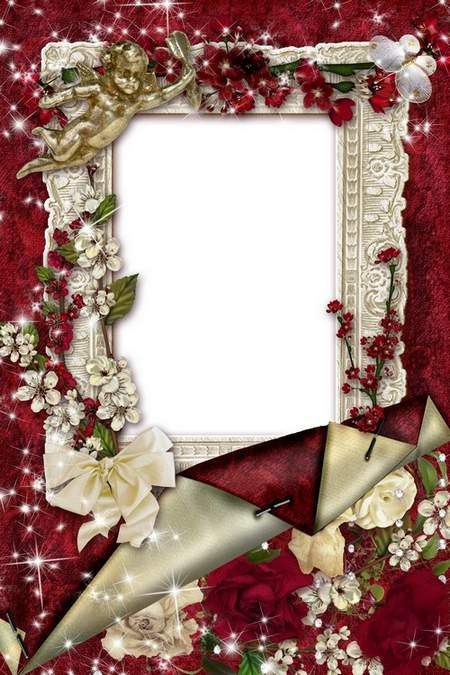Romantic Frames for Photos - Melody and love breath