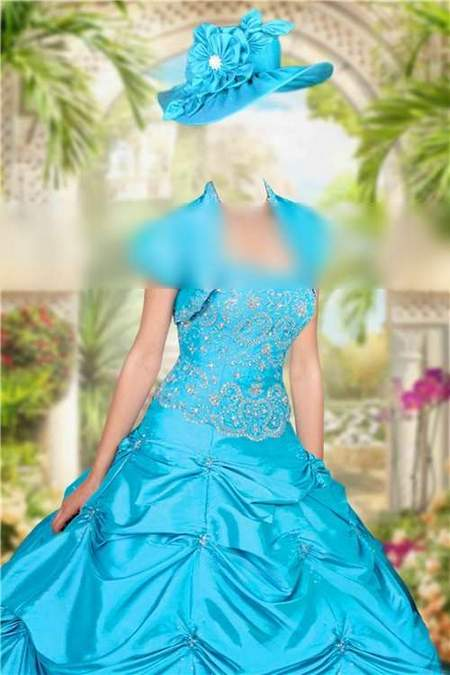 Lady in dress free photoshop template download