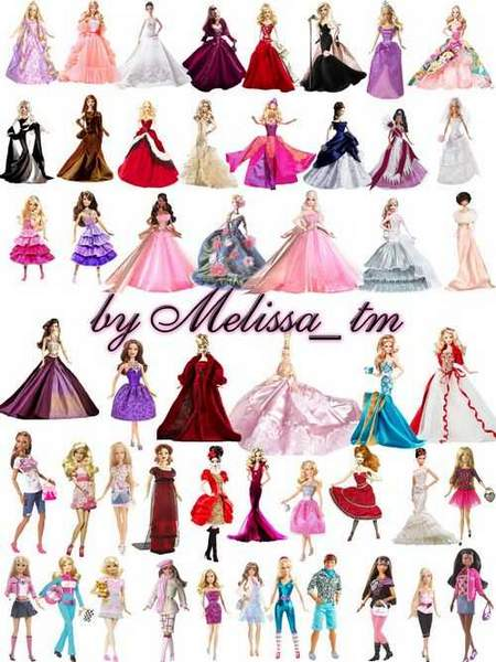 Barbie dolls download - Barbie dolls on a transparent background (free psd)