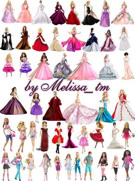 Barbie dolls clipart download