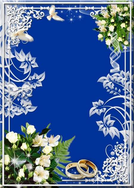 3 Wedding frame - That happiness was endless