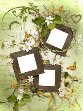 Photo frames - Sweet scent of apples