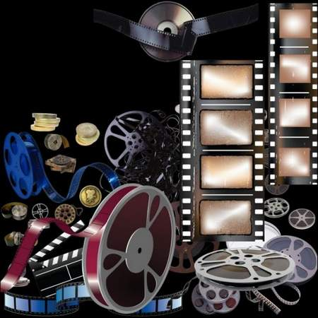 Film clipart download - free psd file