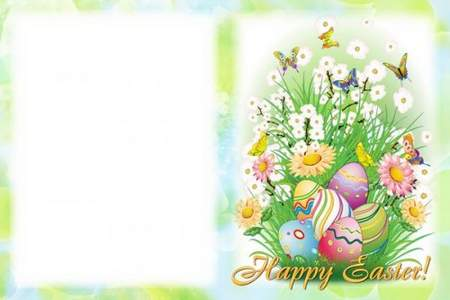 Easter Frame - Happy Easter
