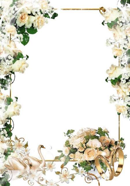 Wedding frame Gentle love
