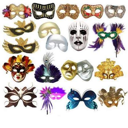 Carnival mask download - Free clipart psd (layered, transparent background)