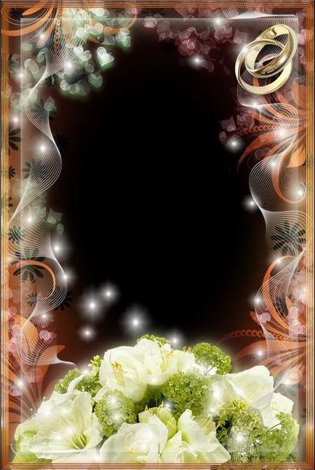 Frame for Photo - Luxury Wedding Bouquet